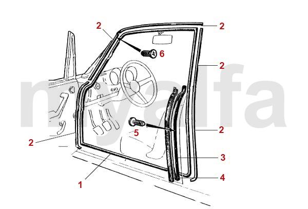 Tür / Rahmen