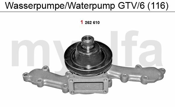 Wasserpumpe GTV/6