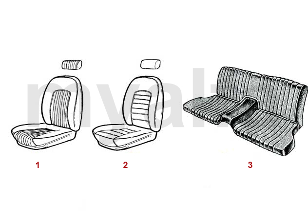 Sitzbezüge 1966-89