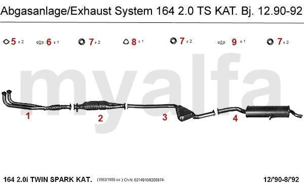 2.0 TS Kat. Bj. 12.90-92