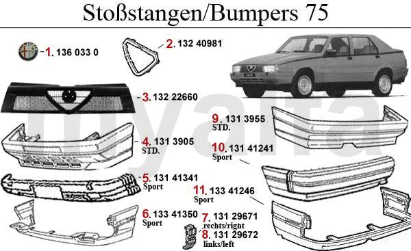 Stoßstange/Kühlergrill/Zierrleiste