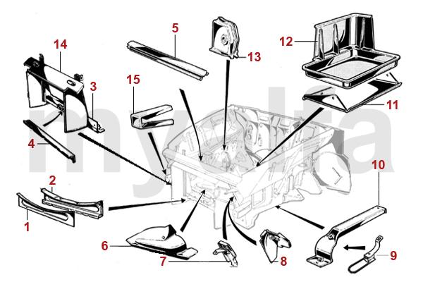 Rahmen Vorderwagen