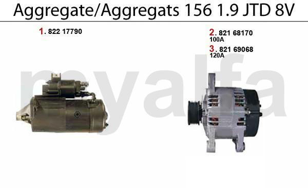 Aggregate 1.9 JTD 8V