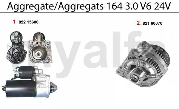 Aggregate 3.0 V6 24V