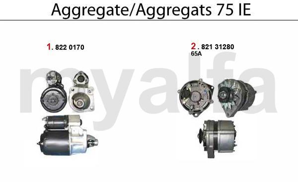 Aggregate 75 IE