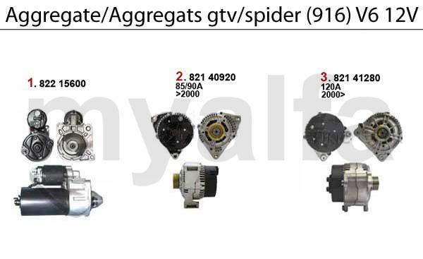 Aggregate 3.0 V6 12V