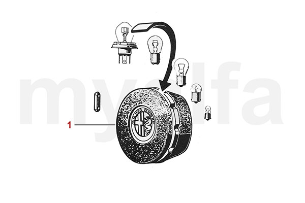 Ersatzlampen-Box