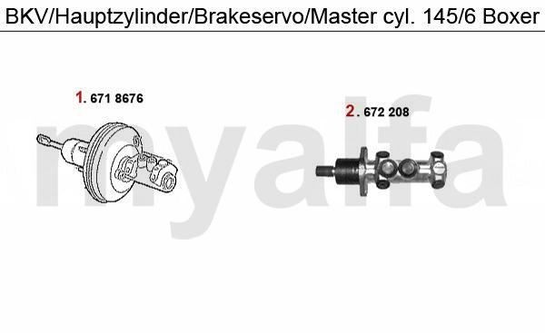 BKV/Hauptbremszylinder Boxer