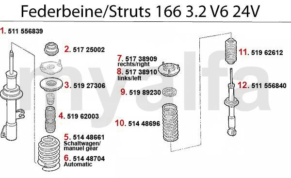 Federbein 3.2 V6 24V