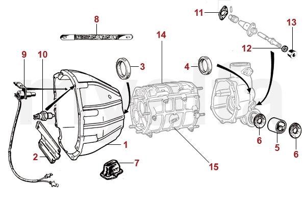 Alfa Romeo Anbauteile - Getriebe - Antrieb - Alfa Romeo ... on