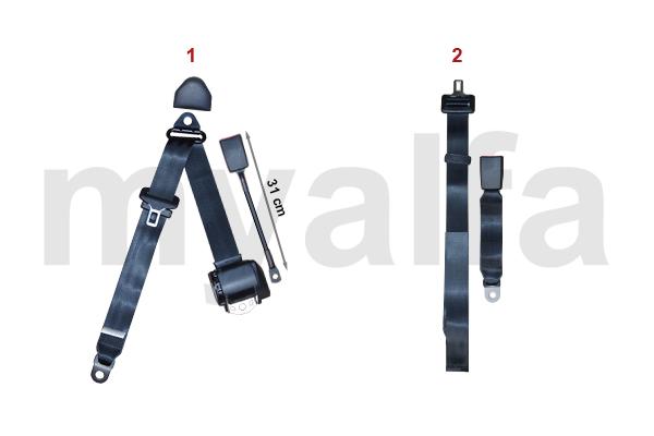 alfa romeo sicherheitsgurte innenausstattung gt. Black Bedroom Furniture Sets. Home Design Ideas