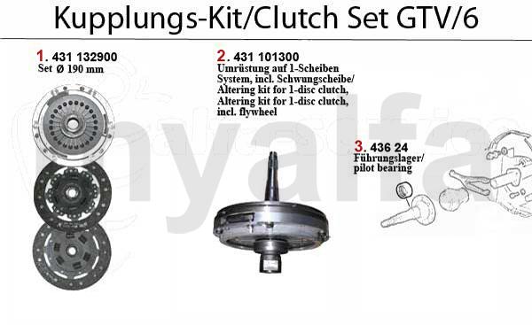Kupplungs-Kit GTV/6