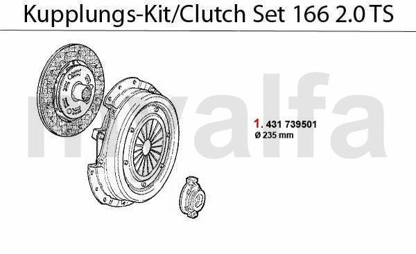 Kupplungs-Kit 2.0 TS