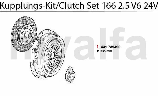 Kupplungs-Kit  2.5 V6 24V