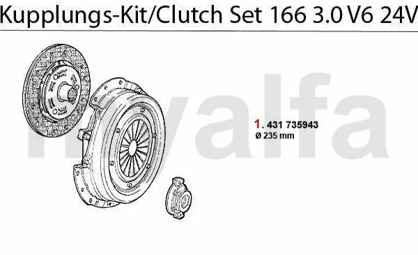 Kupplungs-Kit 3.0 V6 24V