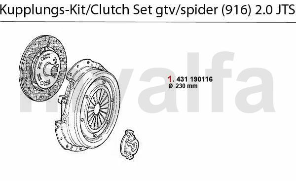 Kupplungs-Kit 2.0 JTS