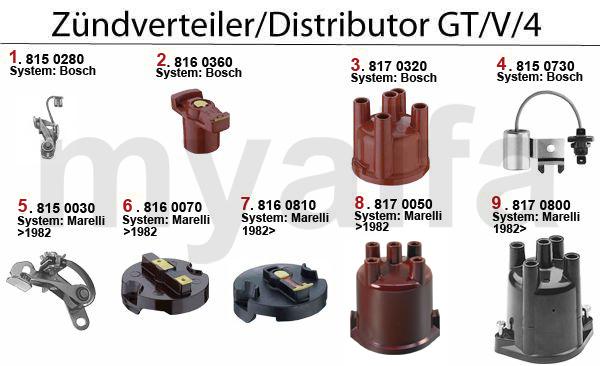 Zündverteiler GT/V/4 (116)