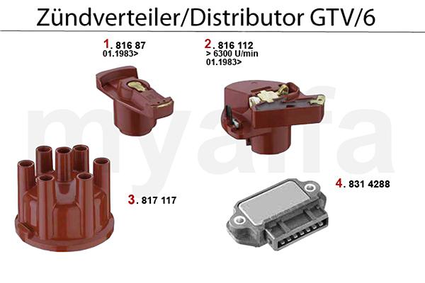 Zündverteiler GTV/6 (116)