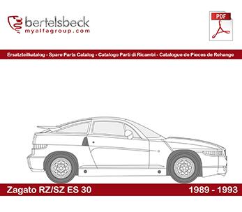 Alfa Zagato ES 30 RZ/SZ