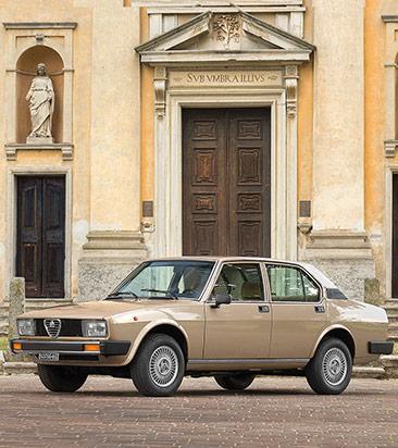 Alfa Alfetta Ersatzteile